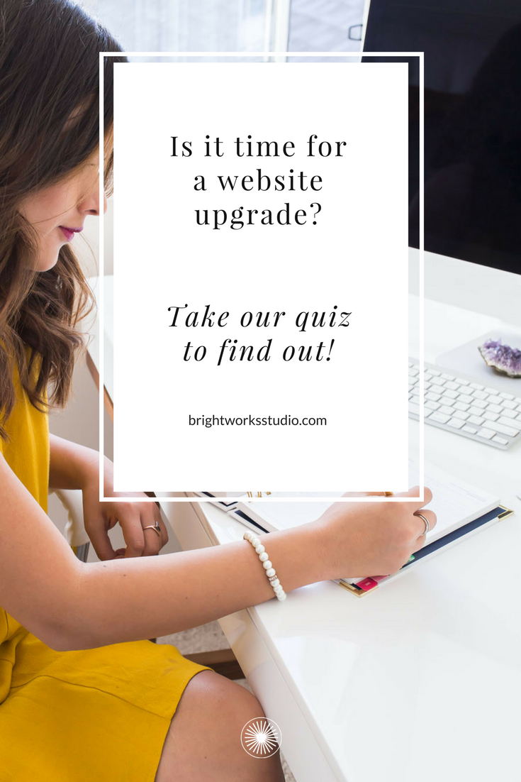 Is it time for a website upgrade? Take our quiz to find out!