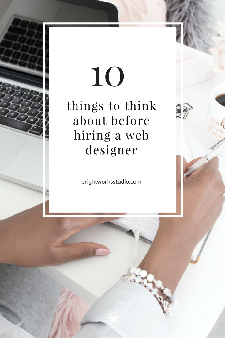 10 things to do before hiring a website designer