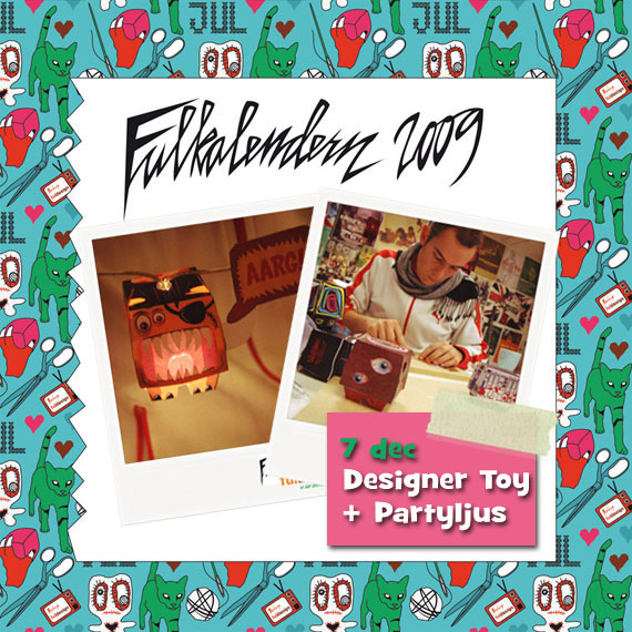 Designer Toys + Partyljus