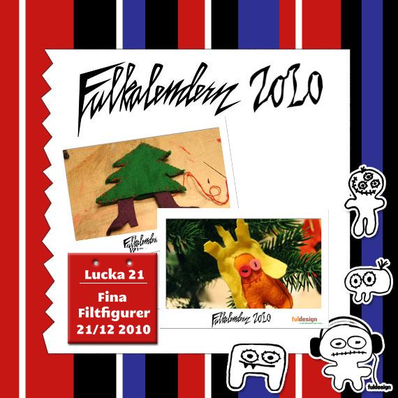 Lucka 21 Fina filtfigurer