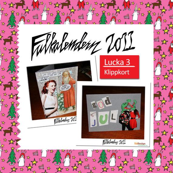 Lucka 4 Klippkort