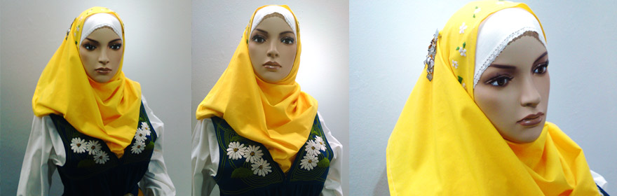 Modera Svea hijab till Sverigedräkten