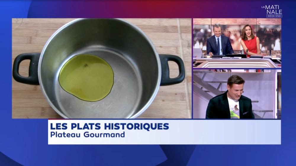 Cyril Rouquet-Prévost Plateau Gourmand LCI