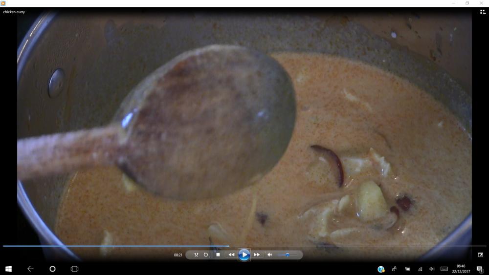 curry chicken cyril rouquet-prévost
