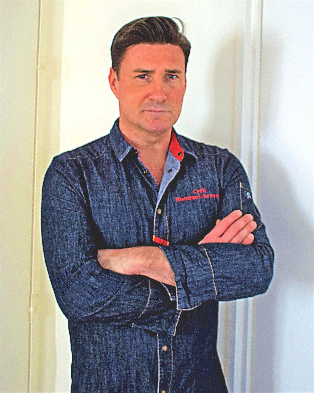 Chef Cyril Rouquet-Prévost Star