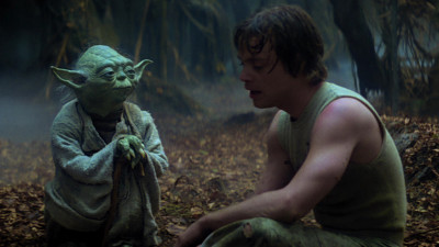 """Judge me by my size, do you?"" - Yoda in Empire Strikes Back"