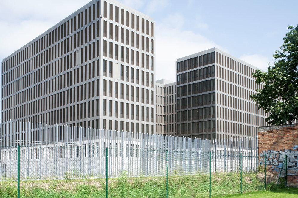 """""""Bundesnachrichtendienst"""" new headquarters, Berlin (DE)"""