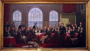 ....Les fondateurs de la Confédération..The founders of Confederation....