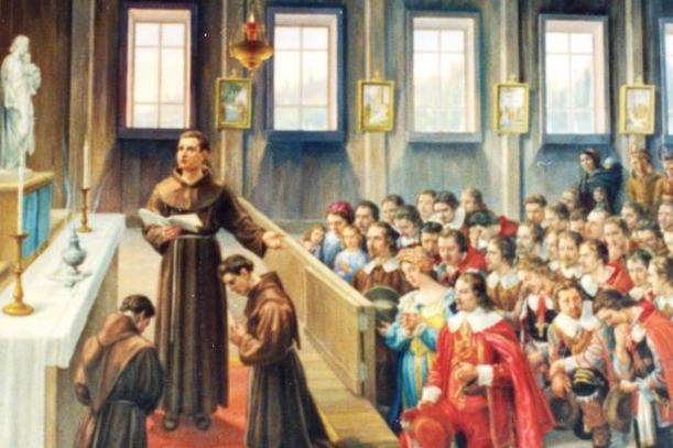 ....Consécration du Canada à saint Joseph en 1624..  Canada's consecration to Saint Joseph in 1624....