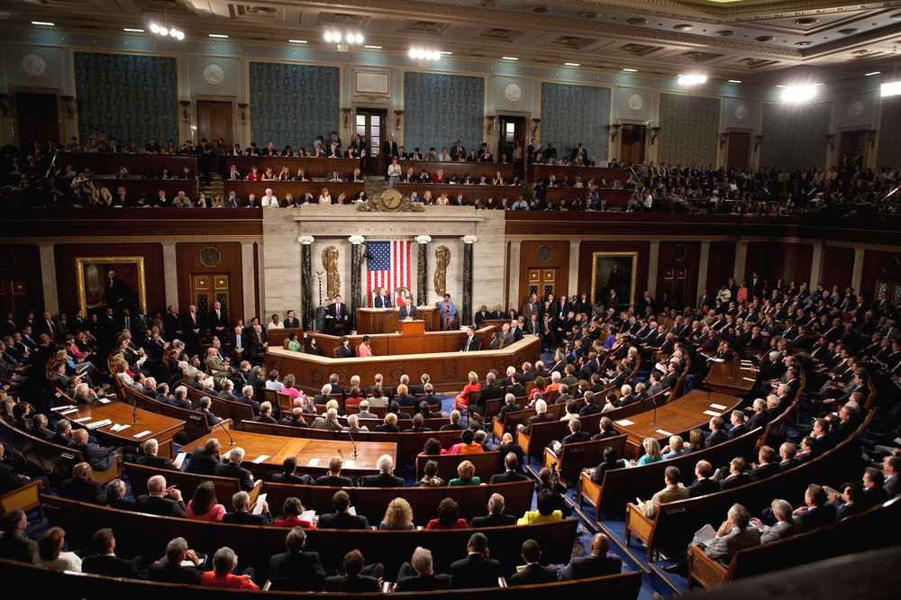 Le Capitole, Congrès des États-Unis
