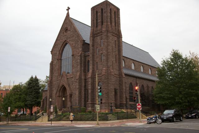 ....Église Saint-Joseph sur la colline du Capitole à Washington .. St. Joseph's Church on Capitol Hill, Washington....