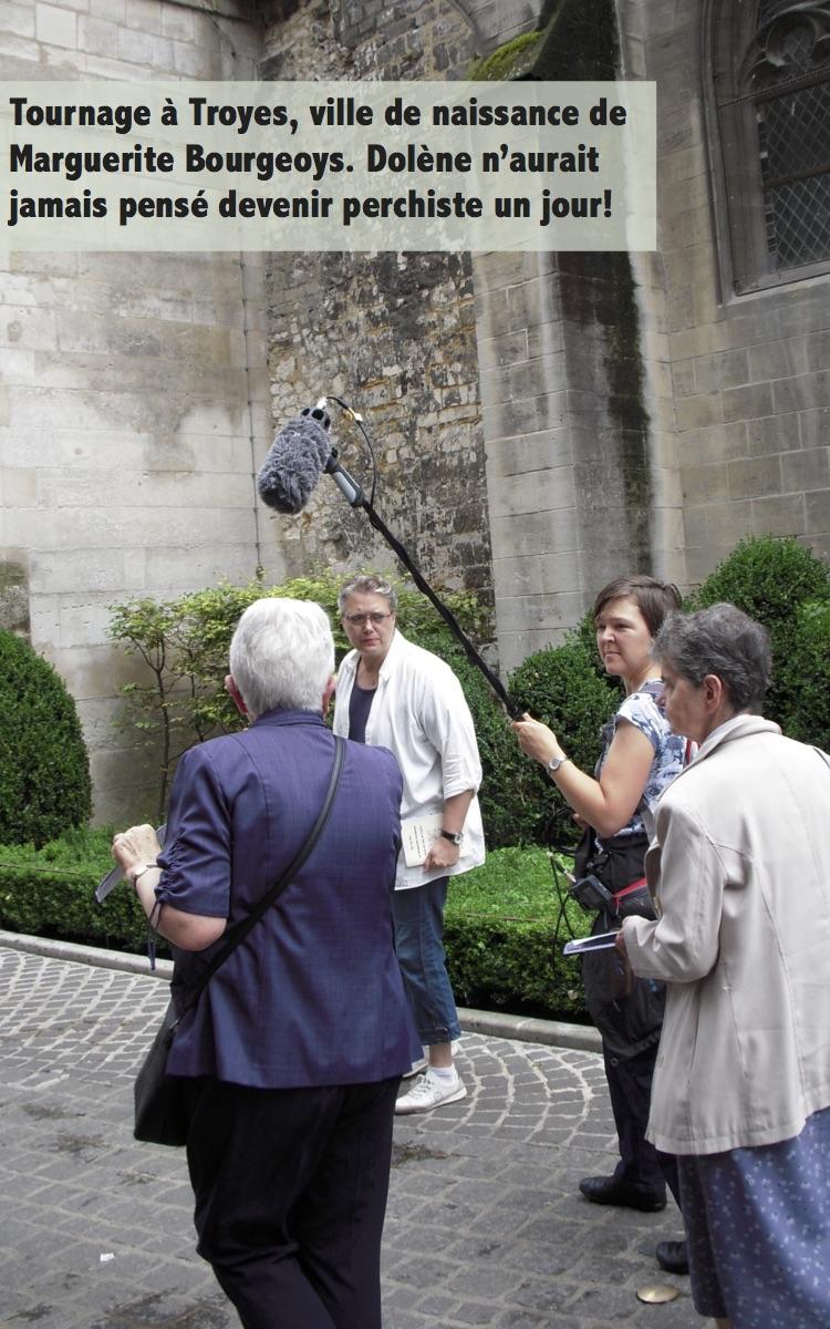Dolène tournage Troyes