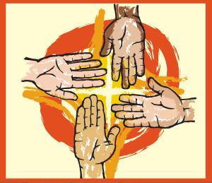 ....Logo pour la Semaine de prière pour l'unité des chrétiens,  ressources canadiennes.  ..Logo for the Week of Prayer for Christian Unity, Canadian Resources. ....