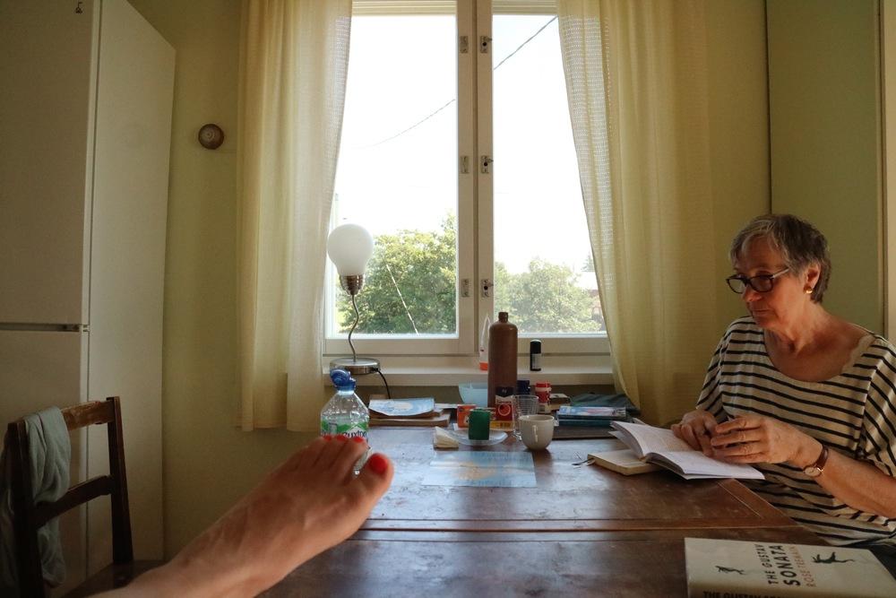 Alice & Jeni - in kitchen.jpg