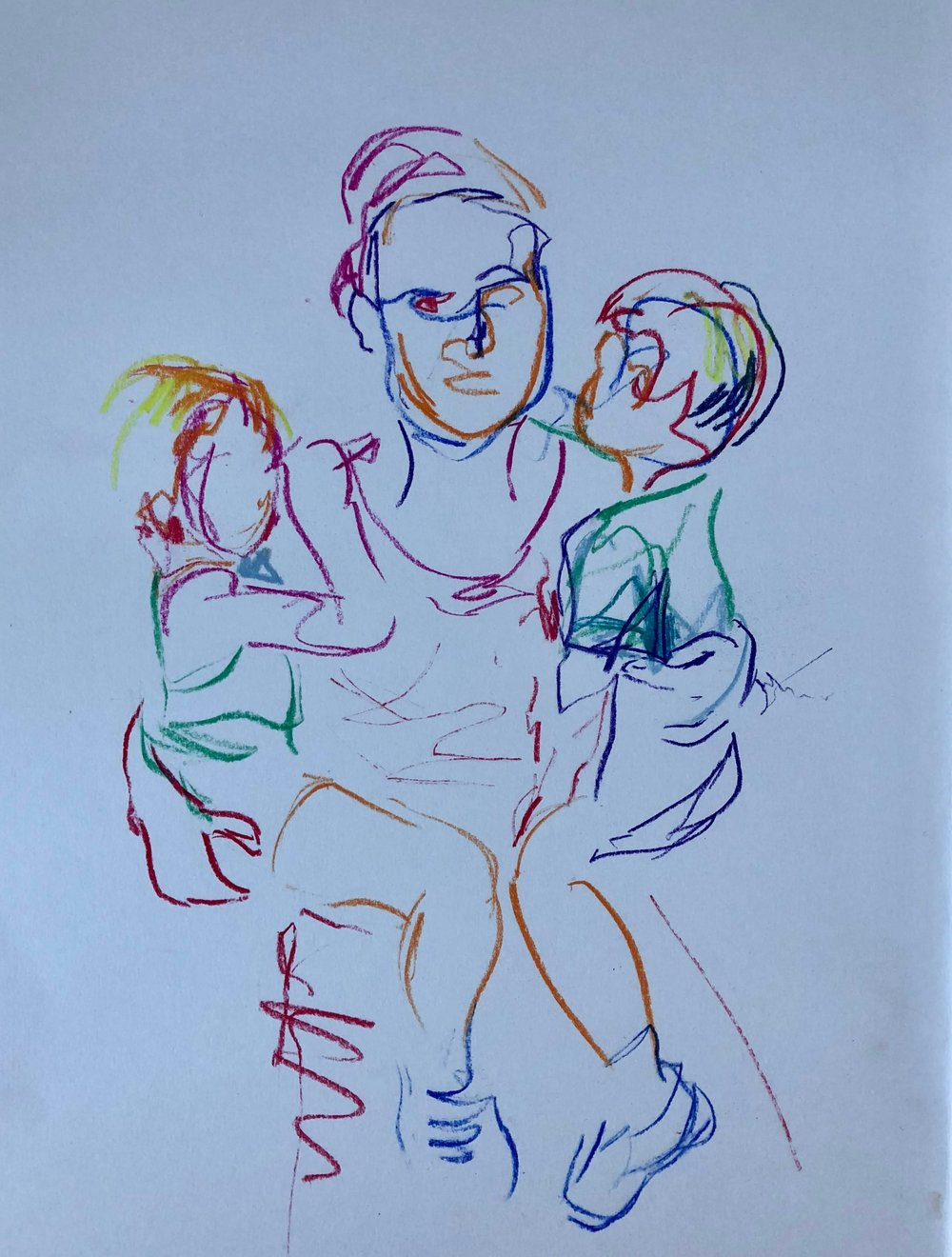 Mother carrying two children.jpg