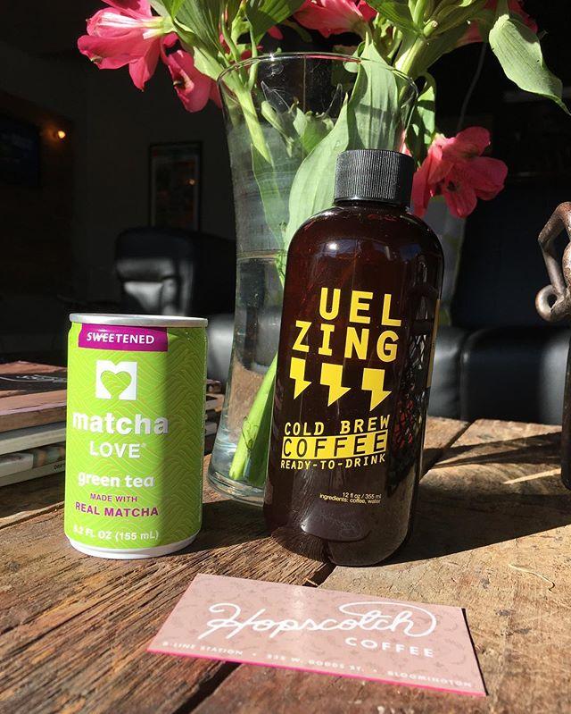 Monday: pick your poison #zingbolt #caffeine
