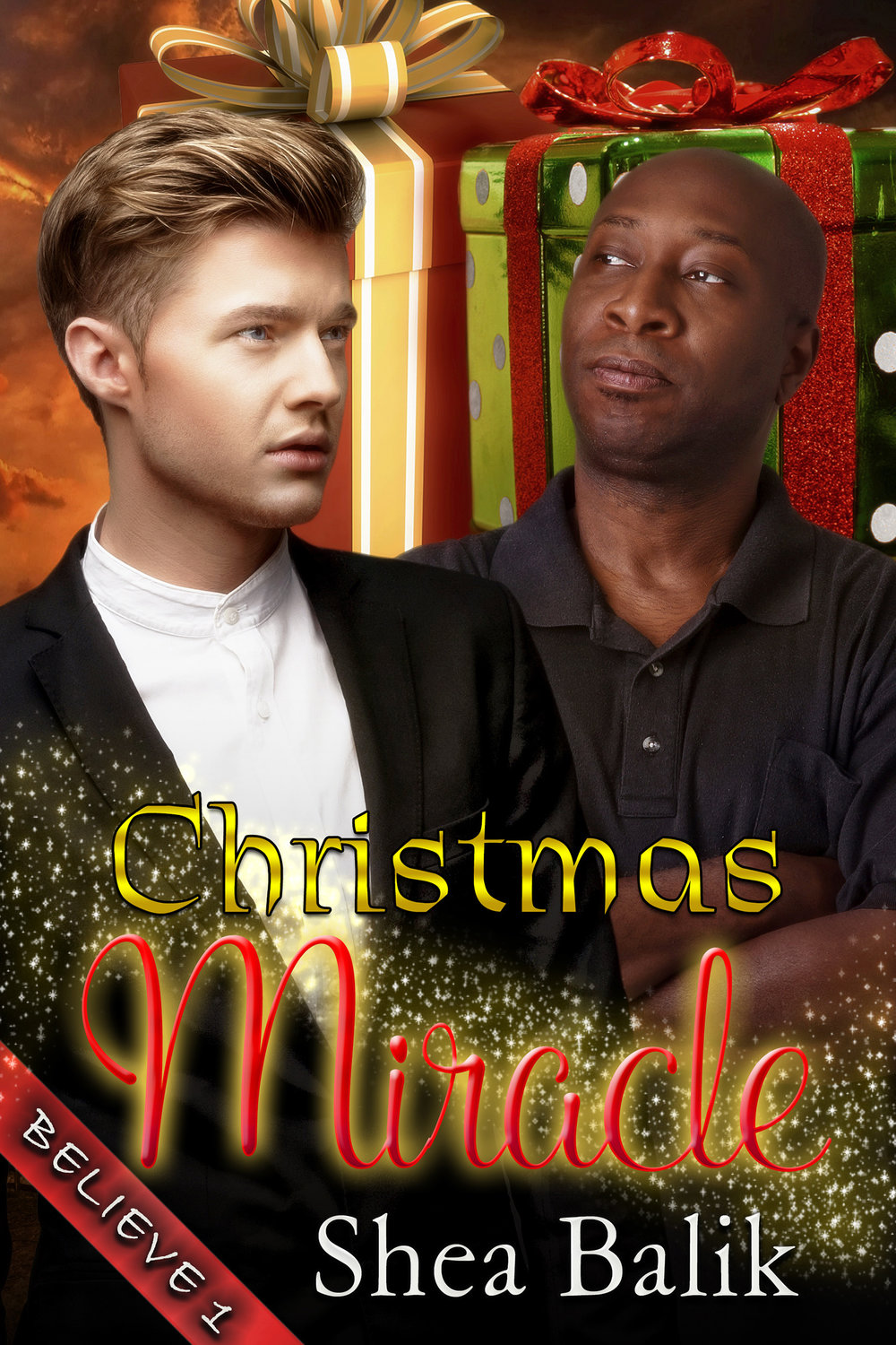 Christmas Miracle - Believe Book 1At a very early age, Ben learned that, in life, there was no such thing as something to believe in. What was the point? Each time he did, someone would come along and prove to him how wrong he was. The fact that his sister died by a drunk driver, who'd walked away without a scratch, and forcing Tobias to move to Texas — one of the most homophobic states in the country — to take care of his now motherless nieces, drove home just how cruel life could be. How was he supposed to help two of the sweetest kids he'd ever known deal with the hell their life would be without the one person they'd depended on, when he was fairly certain, his moving to Texas would only show them how horrible people could be to one another?Darius had seen things that would make most people cringe in revulsion and dread. His parents had traveled, with Darius in tow, all around the world to help those in need. So tragedy wasn't something new to him. As terrible as some of it had been, Darius had also seen the kindness and sacrifice people made to help others. He was a true believer in the goodness of humanity.Determined to help Ben discover that though he may have had hit a few bumps in the road growing up, he'd also met people who had been there for him, helping him when they didn't have to get involved. For life might not always be perfect and at times even cruel, but it was also wonderful and kind if one knew where to look.Ben had to admit that Darius was causing him to look at the world differently. That there might be a chance he'd been only looking for the negative. But, for him, there was one more test that the world would have to pass for him to truly change and it would take a Christmas Miracle to do it.Get your copy for Only $1.99 Or FREE in Kindle Unlimited!!