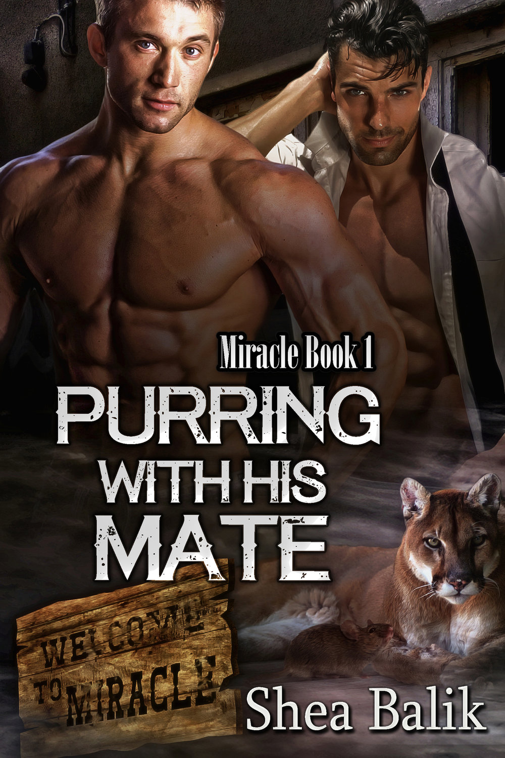 Purring with His Mate, Miracle Book 1