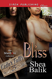Now Available! - #MM #Contemporary #Romance #SeriesBlissCedar Falls 25by Shea Balikhttps://www.bookstrand.com/bliss-mmWelcome to Cedar Falls, a small North Carolina town nestled amongst the Smokey Mountains. Where the people are friendly and the men are hot.Crow Huntley had been shot and ended up in a coma. When he woke up, he discovered his life was over. Not only would he never be able to do the job he loved, but he might actually never walk again.Tarq Havish had spent months wooing Crow. Just when he'd finally gotten his man, Crow had been shot and pushed Tarq away once more. If Crow thought that would stop Tarq from doing whatever it takes to get their happily ever after, he had better think again. Tarq had no problem playing dirty, even if it meant calling in help from some unlikely friends.Warning: Let the hijinks begin. Expect anything and everything from Bigfoot to cheers that will force Crow to get back on his feet and into Tarq's bed.