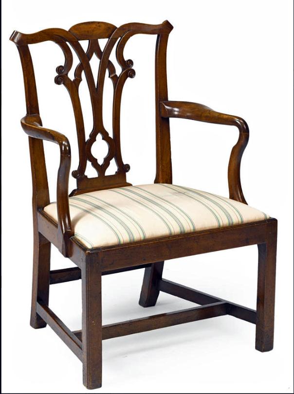 George III mahogany Gothik armchair.jpg