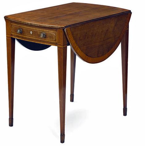 George III satinwood crossbanded mahogany pembroke table.jpg