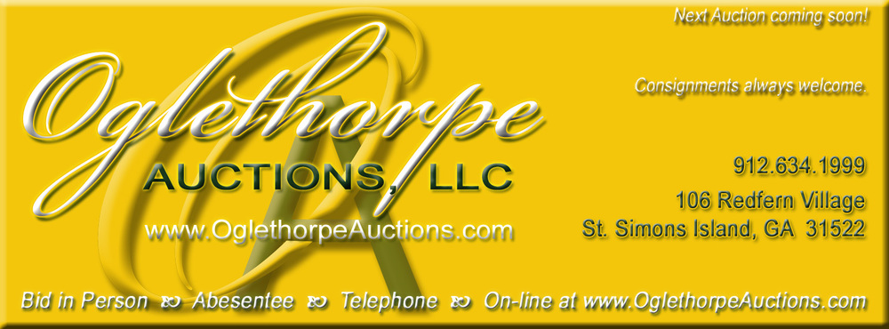 Oglethorpe Auctions header