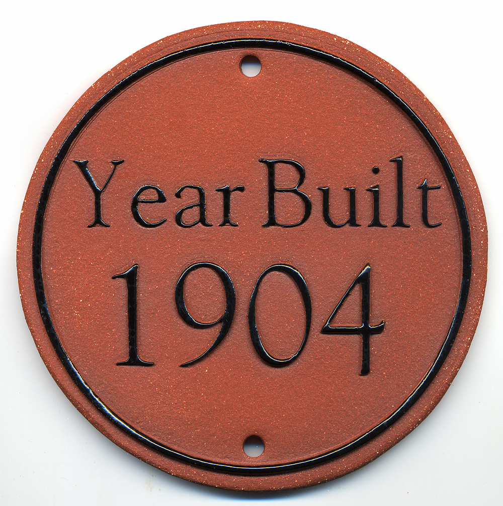 Year Built House Marker