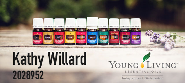 Kathy Willard  Young Living Independent Distributor #2028952