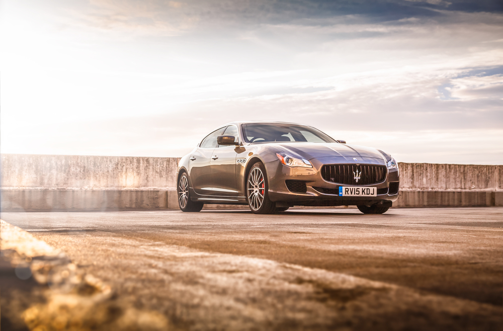 Maserati Quattroporte GTS by Ross Jukes Photography