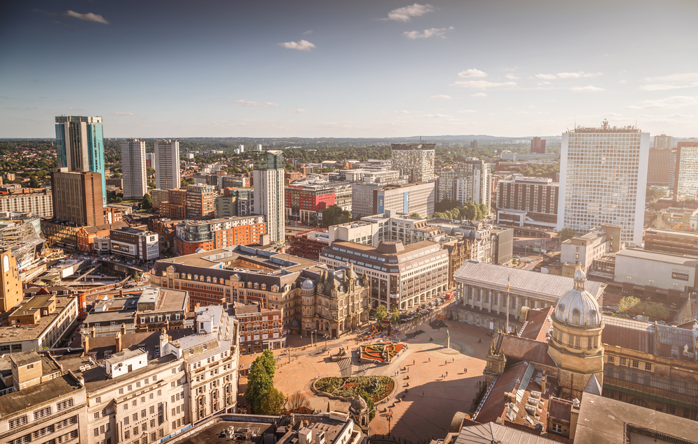 Victoria Square Aerial View by Ross Jukes Photography
