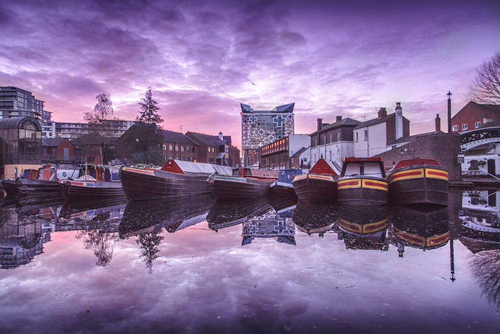Gas Street Basin Birmingham by Ross Jukes Photography