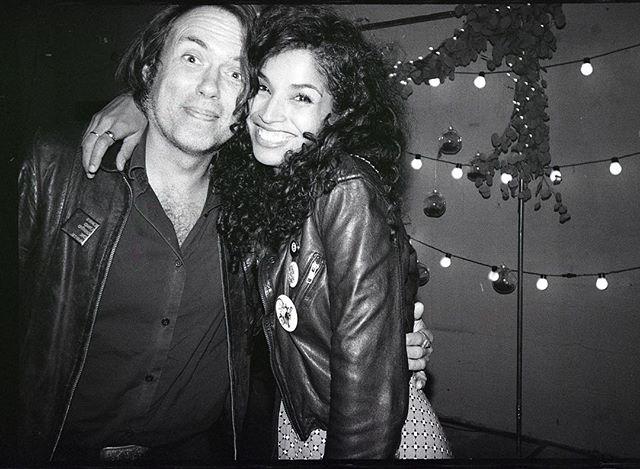 Nashville power artist couple Chet & Poni • #35mm #tmax #nashvilleartist