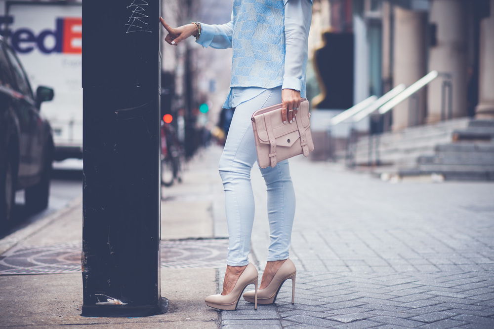 baby blue mademoiselle jules mlle saint laurent shoes