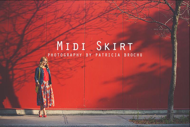 midi skirt mademoiselle jules fashion blog trends