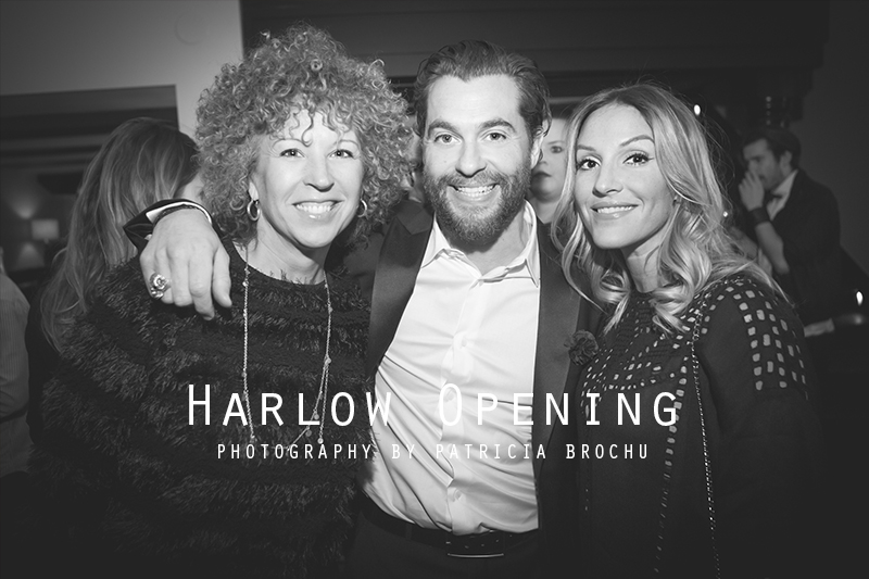 harlow opening night restaurant montreal mademoiselle jules mlle