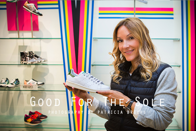 sneaker fashion post shoe departement holt renfrew montreal mademoiselle jules mlle blogger