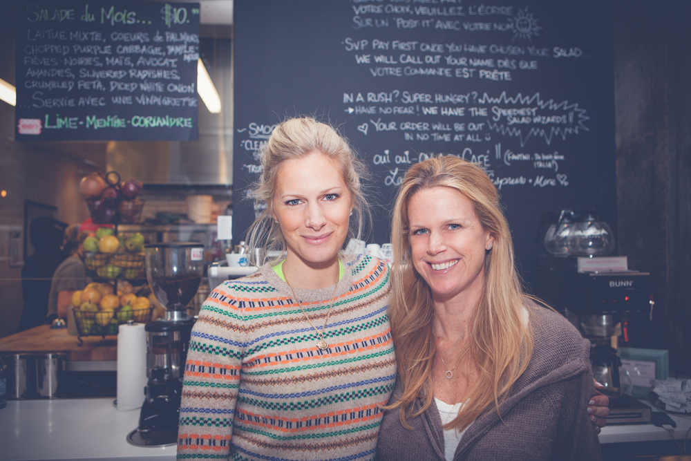 Rebecca Mandy Wolfe Mandy's salad bar on mademoiselle jules mlle blog lifestyle westmount montreal outremont