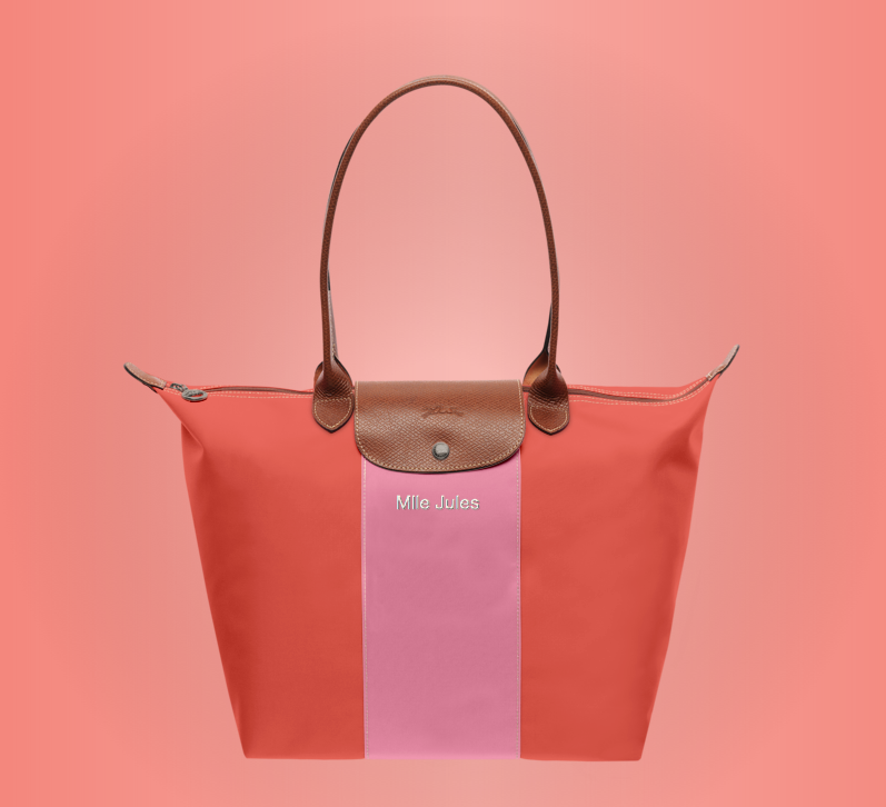 mlle jules longchamp bag pliage fashion blog