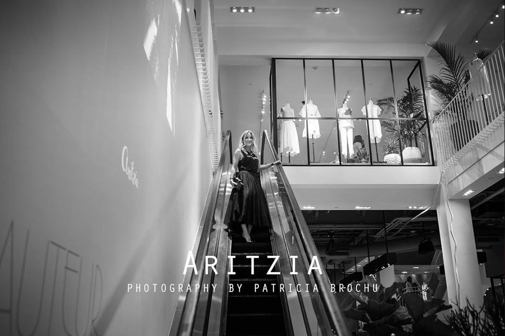 Aritzia opening night with Mademoiselle jules fashion blog in Montreal