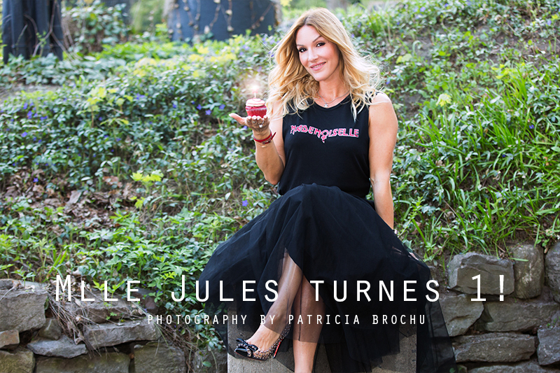 Mademoiselle Jules turnes 1, mlle first anniversary fashion blog