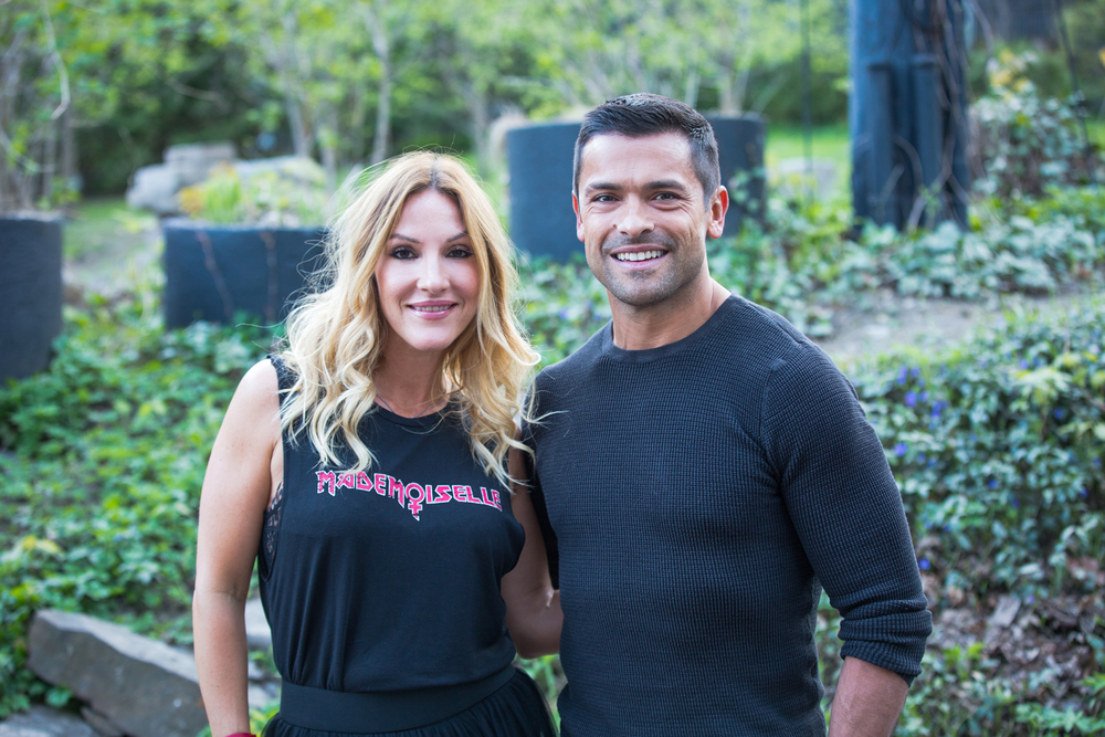 Mark Consuelos & I