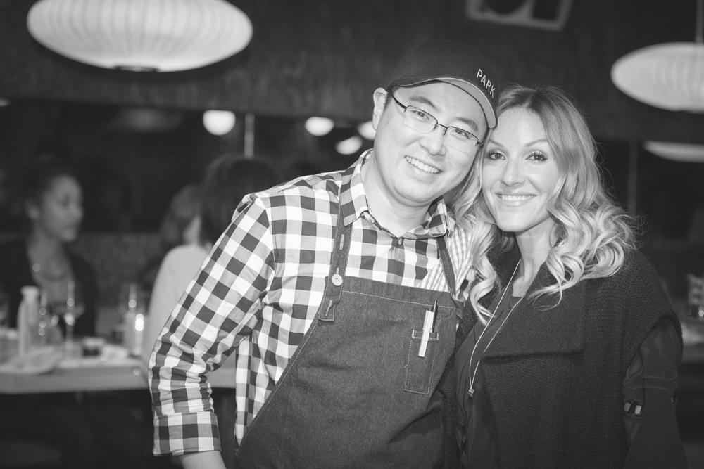 Chef Antonio Park & I