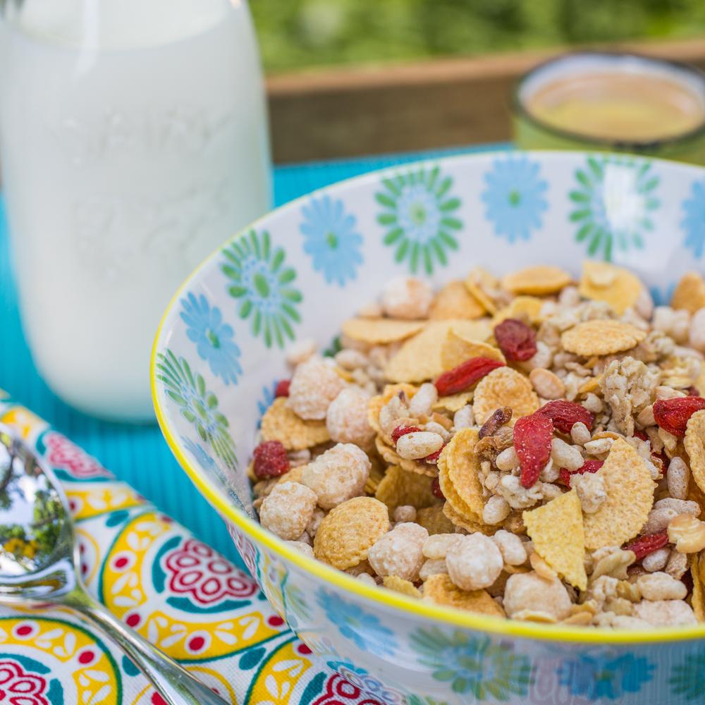 mixit granola breakfast blog mademoiselle jules mlle