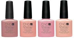 shellac color nudes