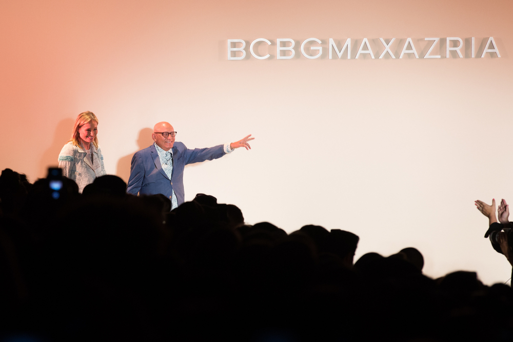 BCBG Max Azria runway show New York Fashion Week SS16