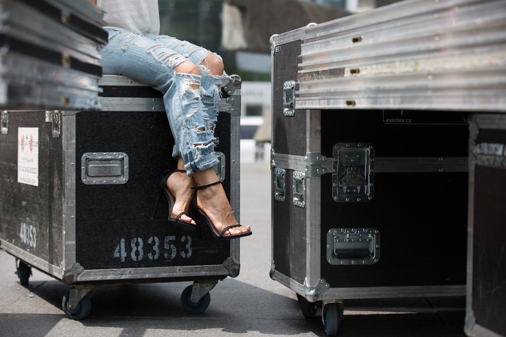 nudist sandal stuart weitzman fashion blogger brand ambassador