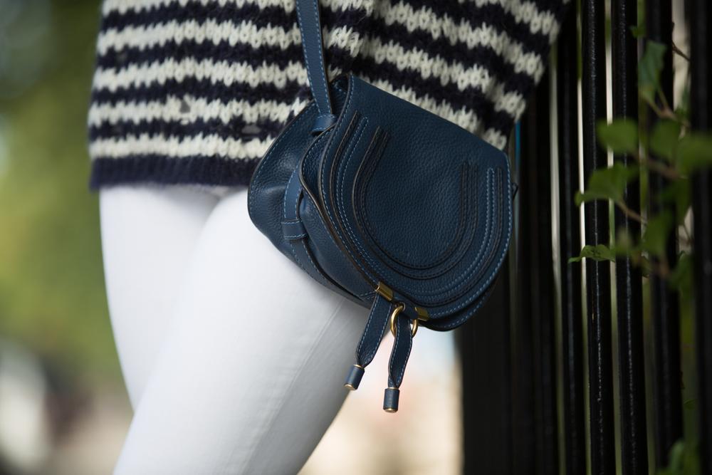 mademoiselle jules canadian fashion blogger blue chloe bag
