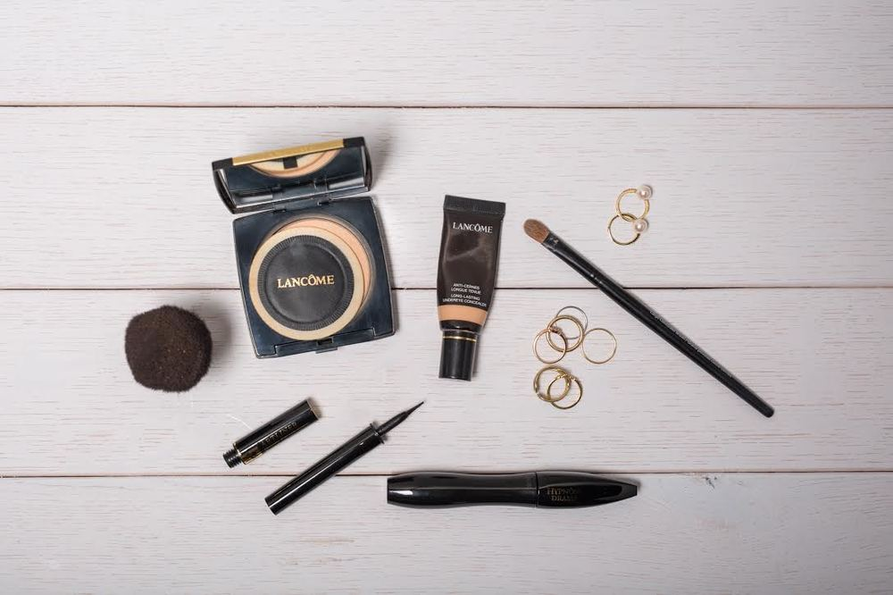 make up routine by blogger mademoiselle jules with Lancôme