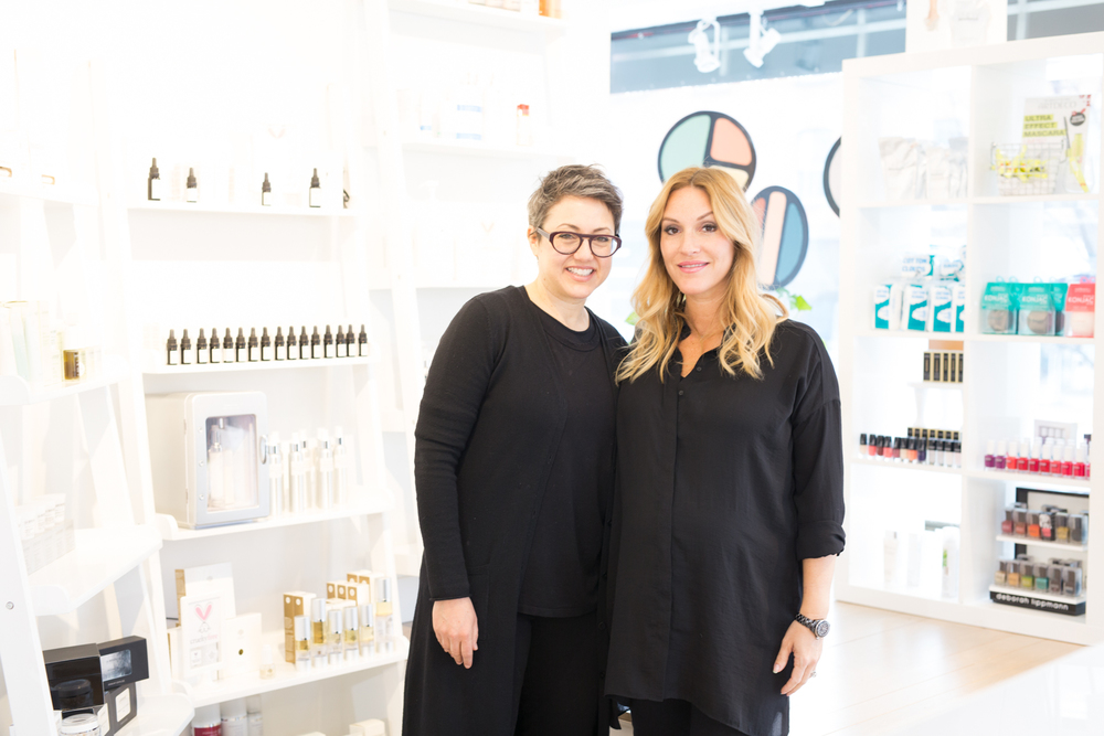 Sharleen young with Mlle jules beauty blogger