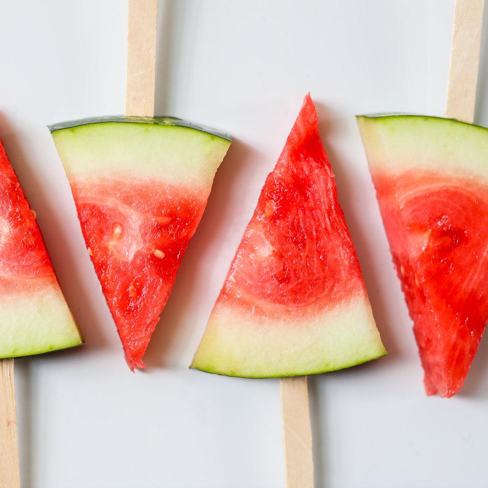 pink lemonade watermelon food blog mademoiselle jules mlle birthday party idea